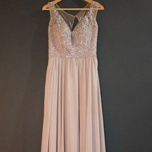 Morilee Beaded Bridesmaid Dress